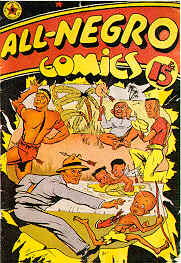 Weird Comics Covers - All Negro Comics