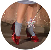Wizard of Oz - Red Shoes
