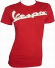 VESPA GIRL SHIRT IN METALLBOX - ROT
