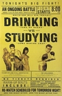Drinking vs. Studying
