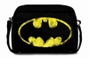 LOGOSHIRT - BATMAN TASCHE STREET BAG - SCHWARZ - FAKE LEATHER